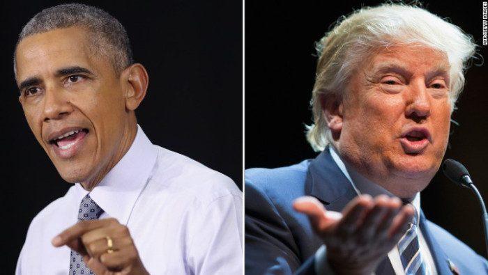 """""""Donald Trump no es apto para ser presidente"""", dice Obama"""